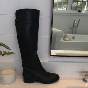 So Kemper over the knee black boots